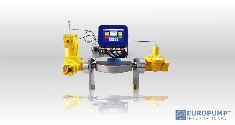 LPG flow meter with coriolis mass flow meter