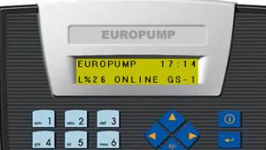 Basic LPG Control Panel Main Screen